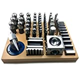 55 tlg. Verformungswerkzeug-Set FormeXX55 inkl. Kugelpunzen, Würfelanke, Amboss etc.