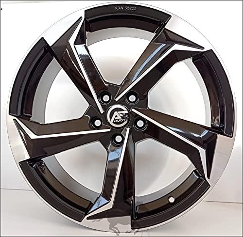 1 ESSE10 Llantas de Aleación NAD 7,5 17 5X112 45 66,5 Compatible Con Seat Leon Ateca Skoda