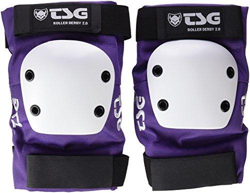 TSG Erwachsene Ellbogenschoner Roller Derby 2.0, Purple, L