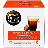ネスカフェ NDG ドルチェグスト 専用カプセル レギュラーブレンド カフェインレス 16杯分×1箱