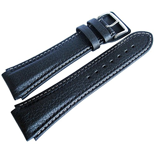 Di-Modell Pilot 20mm Black Leather Watch Strap