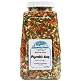 Premium Vegetable Soup Mix - Dehydrated (12 oz. Quart Size Jar) by...