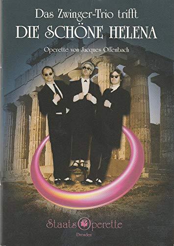 Programmheft DAS ZWINGER-TRIO TRIFFT DIE SCHÖNE HELENA Spielzeit 2004 / 2005 Heft 3