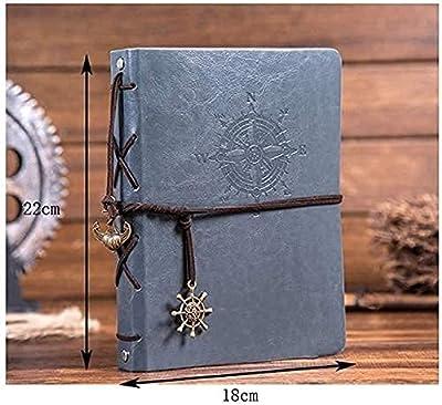 Album photo Vintage Leather Family DIY Album photo Scrapbook fait à la main Remplaçable Black Page Memory Book,Utilisé pour la fête des mères, anniversaire de mariage, anniversaire, Noël, Saint Valentin, Gradu