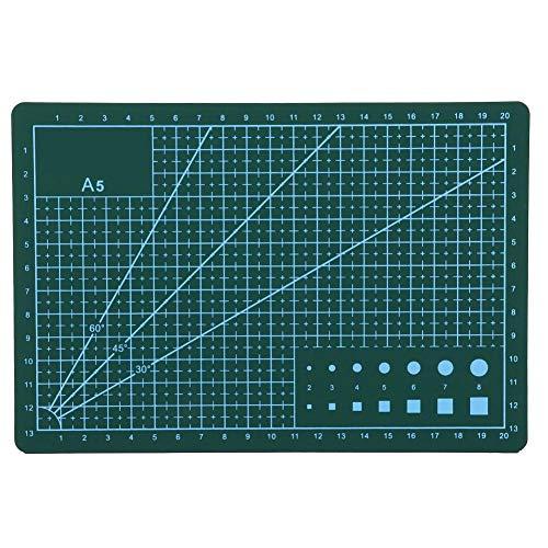 工作マット カッターマット A5 テーブルトップ保護 カッティングマット 傷自動癒合機能 プラモデル用工具 下敷き デスクトップ保護 カッター台 粘土板 書き込み・塗装・彫刻などに(#3)