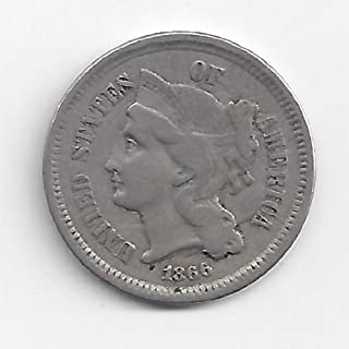 1866 three cent piece