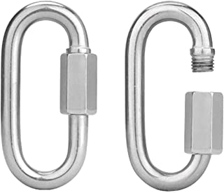 Best 1/8 stainless steel quick link Reviews