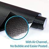 Zoom IMG-2 aobetak adesivo carbonio fibra in