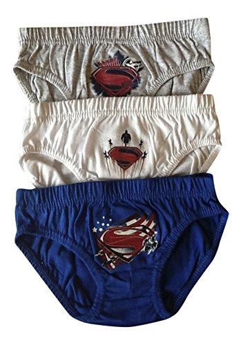 3 Paare von Jungen & Mädchen Marvel Superheld 100prozent Baumwolle Unterhose Slips in 3 Größen, Mehrfarbig - Various, 4-5
