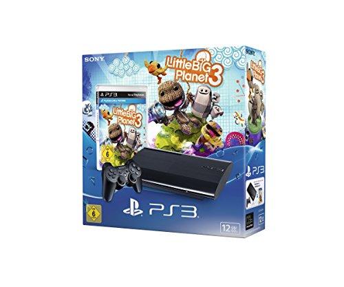 PlayStation 3 - Konsole 12 GB (inkl. DualShock 3 Wireless Controller + Little Big Planet 3)