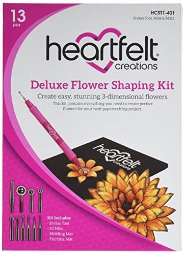 Heartfelt Creations Deluxe Flower Gestaltung Kit, Mehrfarbig, 2,54x 15,2x 20,95cm