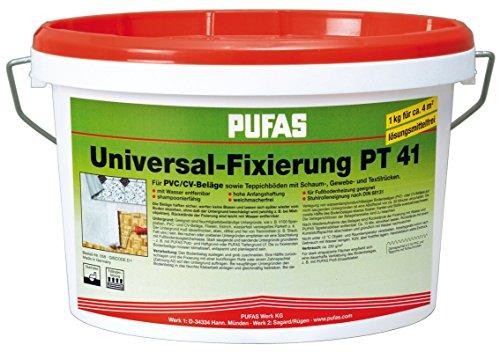 PUFAS Universalfixierung Fixierung PT 41 PVC- und CV-Bodenbeläge - 3KG