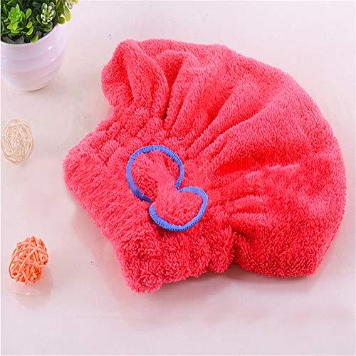 LANMISS Microfibre Solide Cheveux Turban À Séchage Rapide Chapeau De Cheveux Femmes Filles Chapeau Outil De Bain Séchage De La Serviette De Tête Wrap Chapeau