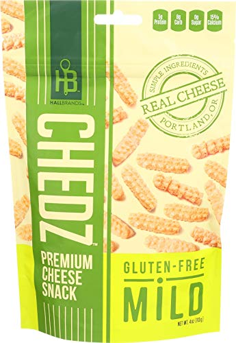 CHEDZ SNACKS, Cheese Snack, Mild, Gf, Pack of 6, Size 4 OZ, (Gluten Free)