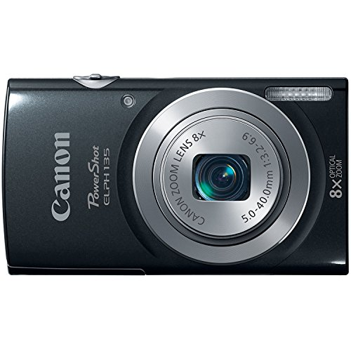 Canon PowerShot ELPH135 Digital Camera (Black)