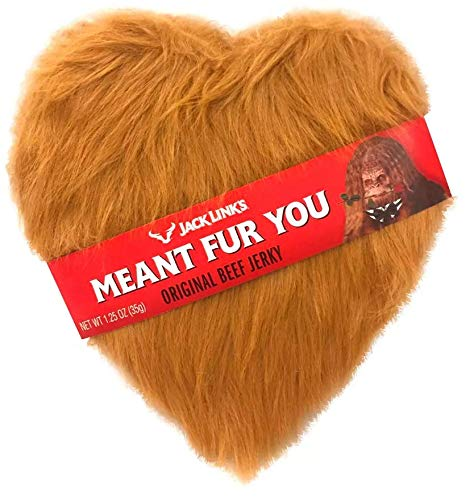 Jack Links Valentines Day Meant Fur Me Heart Box Original Beef Jerky - 1.25oz