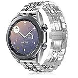 TOPsic 20mm Cinturino Galaxy Watch Active/Active 2 40mm 44mm/Galaxy Watch 3 41mm/Galaxy Watch 42mm Braccialetto Polso Cinturini per Gear Sport/Gear S2 Classic/Ticwatch 2/Huawei Watch 2 (B)