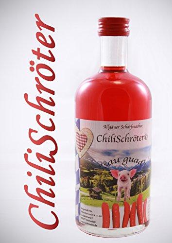 Likör ChiliSchröter (0,5 Liter-Flasche) ALLGÄUER SCHARFMACHER