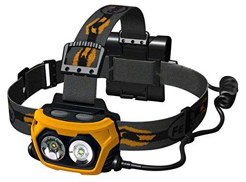 Fenix HP25R4YW 340 Lumen Flashlight, Black/Yellow