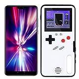 MOGOI Gameboy - Funda protectora de silicona para Huawei P20 Pro, diseño retro 3D Gameboy con 36 juegos pequeños, pantalla a color, funda para videojuegos Huawei P20 Pro