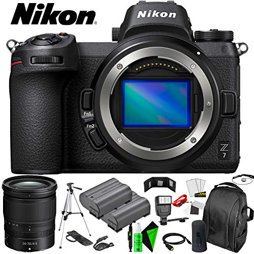 Affordable Nikon Z7 Mirrorless Digital Camera (Body Only) + 24-70mm Lens