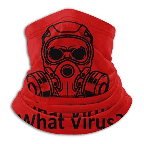 Covid 19 Unisex Warmer Bandana,Face Mask Multifunction Neck Gaiter Headwear Outdoor UV Sun Protection Fishing, Hiking Gray
