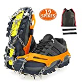 serene freestyle Crampons,Traction Snow Grips with 19 Spikes,Ice Shoes Boots...