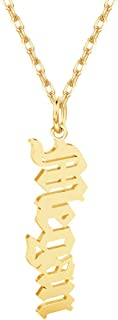 Best custom vertical name necklace Reviews