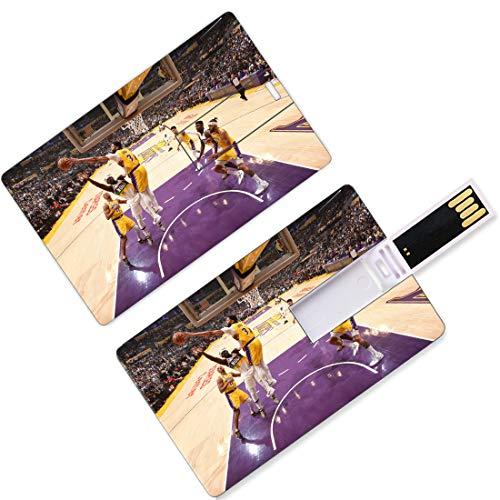 USB Flash Thumb Drives Giocatore di basket nazionale Forma di carta di credito Playoff dell'Associazione Finali Allstar Super Star Superstar Lancia un pass da baseball U Memoria su disco Memoria Easte