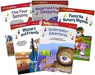 Ultimate Baby Genius 5-Movie Collection DVD - The Four Seasons/Mozart & Friends Sleepytime/Mozart & Friends/Favorite Nursery Rhymes/Underwater Adventures