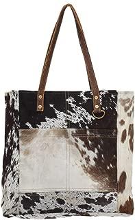 s Pocket Genuine Leather with Cowhide Shoulder Bag S-0722