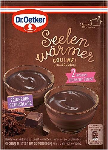 Dr. Oetker Seelenwärmer Gourmet feinherbe Schokolade, 18er Pack (18 x 90 g)