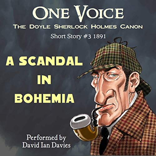 A Scandal in Bohemia cover art