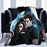 SDINAZ The Twilight Saga Sherpa Throw Blanket Cozy Lightweight Ultra-Soft Velvet for Couch Bed Sofa (60in80in)