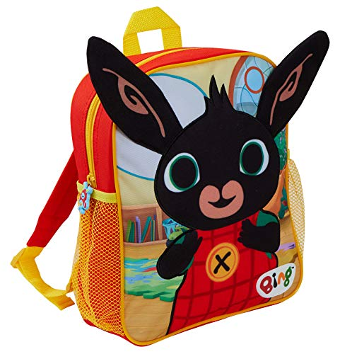 Bing Bunny 3D Plush Backpack Boys Girls Nursery School Pre School Rucksack Kids Book Lunch Bag