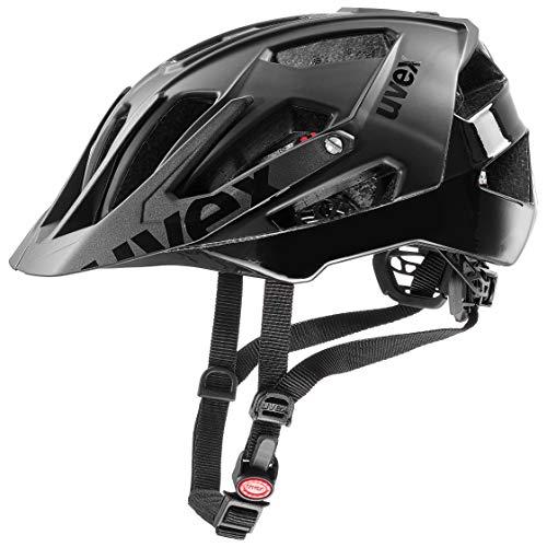 uvex Unisex– Erwachsene, quatro Fahrradhelm, black mat, 52-57 cm