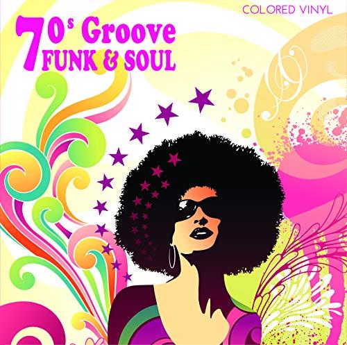 70s Groove: Funk & Soul Vinilo de color Rosa- Lamont Dozier, Ike Turner, Bill Cosby, Música y Éxitos de los 70
