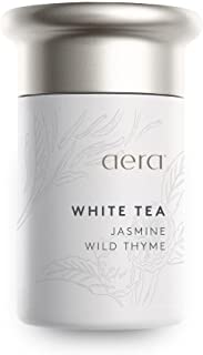 White Tea Scented Home Fragrance, Hypoallergenic Formula With Notes of White Tea, Jasmine, Thyme - Schedule Using App With Aera Smart 2.0 Diffusers - State Of The Art Air Freshener Technology