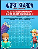 Word Search Book for Kids: Activity Book for Children: 1 (01)