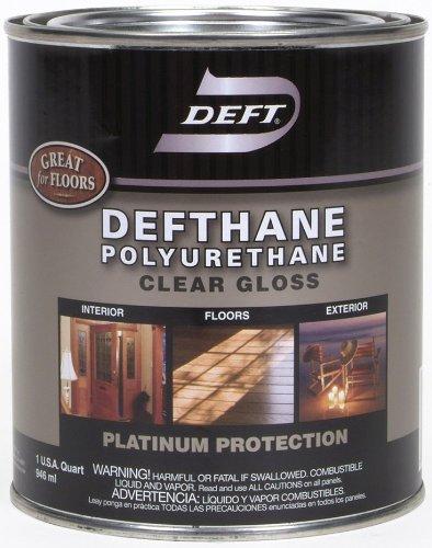 Deft Defthane Interior Exterior Clear Polyurethane Gloss,...
