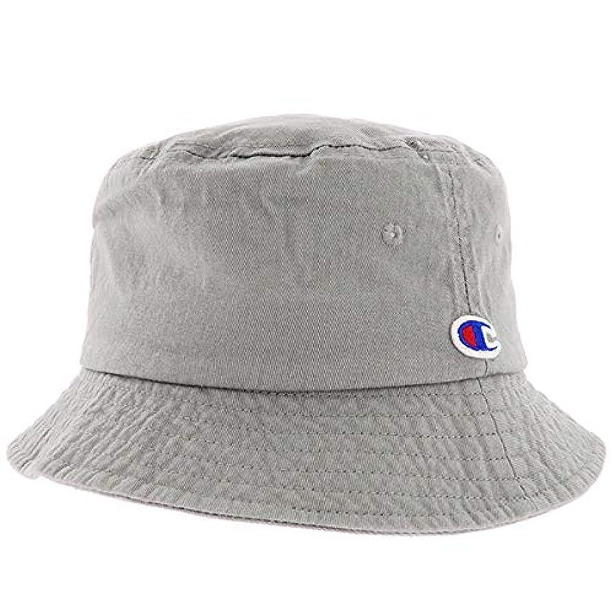重さ歩き回る眠いですChampion チャンピオン BUCKET HAT バケットハット ロゴ刺繍 帽子 メンズ レディース 587-001A