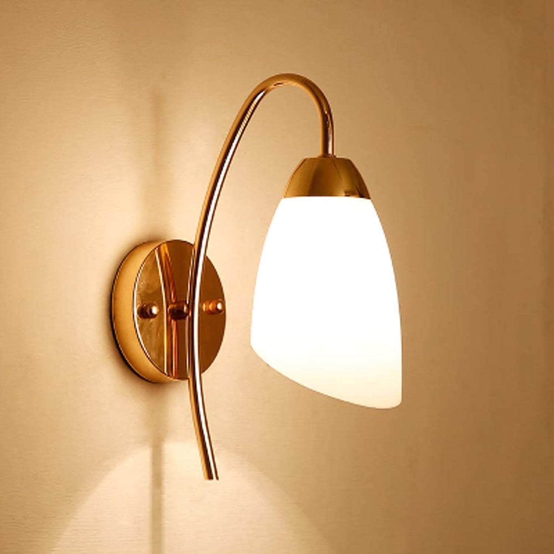 Wandlampe Nachttischlampe Wand Schlafzimmer Einfache Moderne Kreative Europische Amerikanische Wohnzimmer Führte Treppenhaus Gang Lampen (Farbe   B)