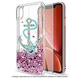 Mixroom - Coque Cover Case avec paillettes en gel liquide Quicksand pour iPhone différents modèles...