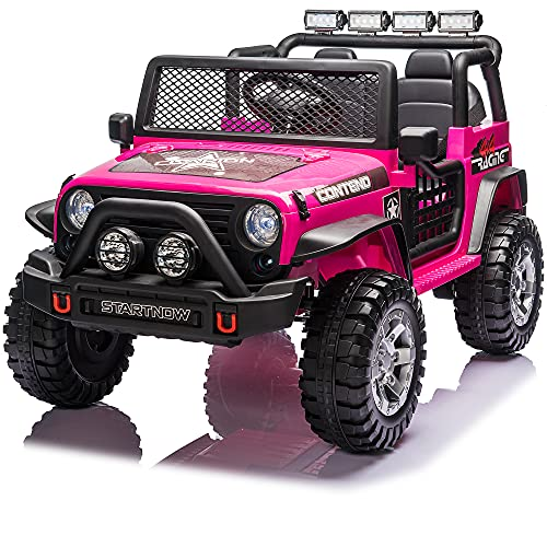 sopbost 12V Kids Ride On Car with Remote Control Kids Ride...