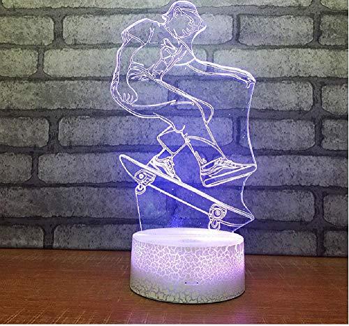 Lámpara de mesa LED dormitorio decoración aire escritorio lámpara para sala de estar decoraciones de Navidad