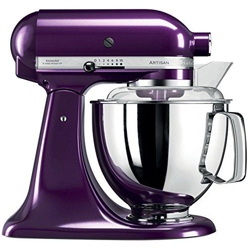 KitchenAid 5ksm175psepb, Artisan–Robot de cocina con equipamiento profesional, color morado