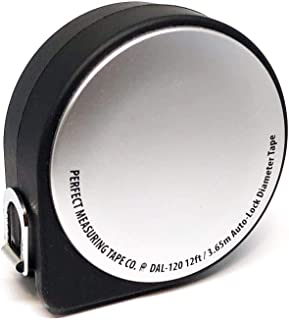 Perfect Pi Diameter Circumference Auto-Brake Tape Measure and Layout Pocket Rule DAL120-1/2-Inch by 12ft / 3.5m