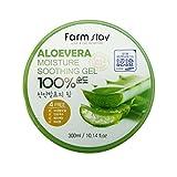 Farm Stay - Aloe Vera Moisture Soothing Gel 300 ml for men and woman - 100% Aloe...