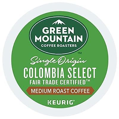Green Mountain Coffee Colombian Fair Trade Select, Fair Trade, Single Origin, Medium Roast Coffee, 24 Count