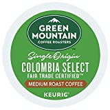 Green Mountain Coffee Colombian Fair Trade Select Keurig Single-Serve K Cup Pods, Medium Roast Coffee, 24Count